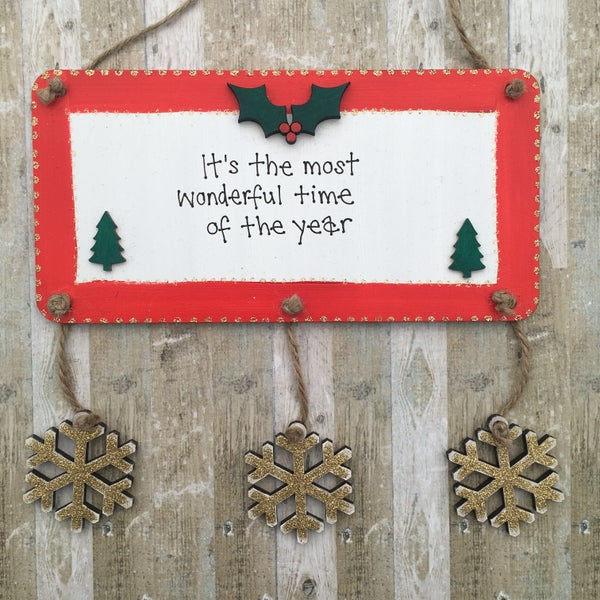 Image of Christmas Plaque