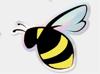 Holigraphic Bumblebee sticker