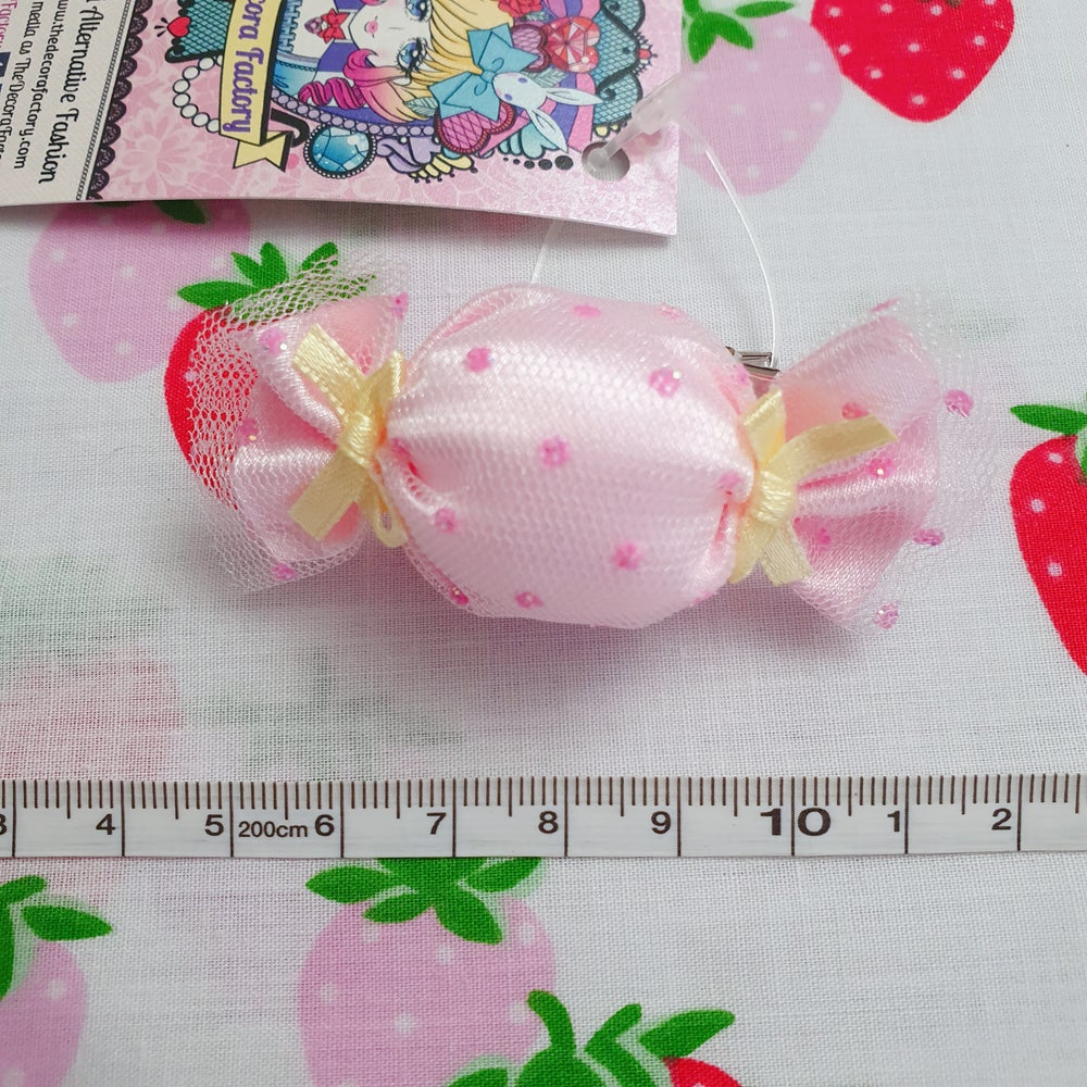 Image of Sweet Lolita Candy Bonbon Two Way Hairclip and Brooch