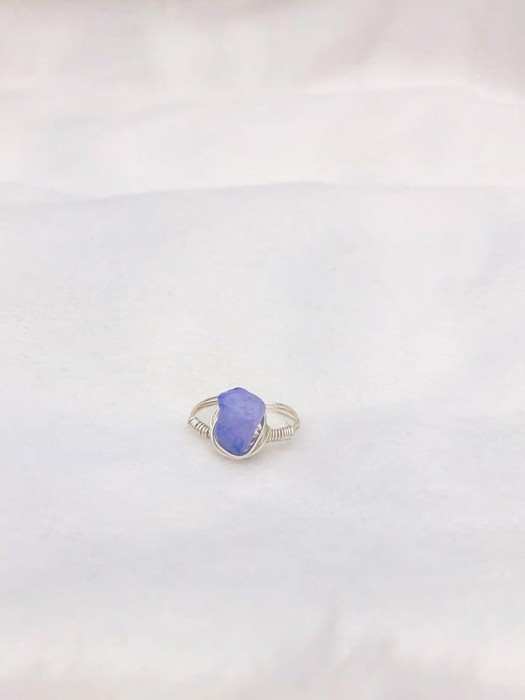 Image of Purple Quartz Stone Ring