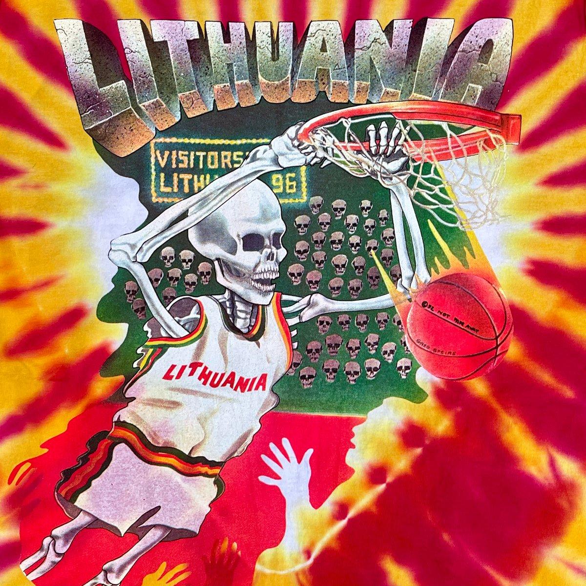 Original Vintage Grateful Dead 1992 Lithuania Tank Top! X-Large