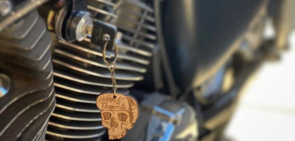Image of Wood Keychain