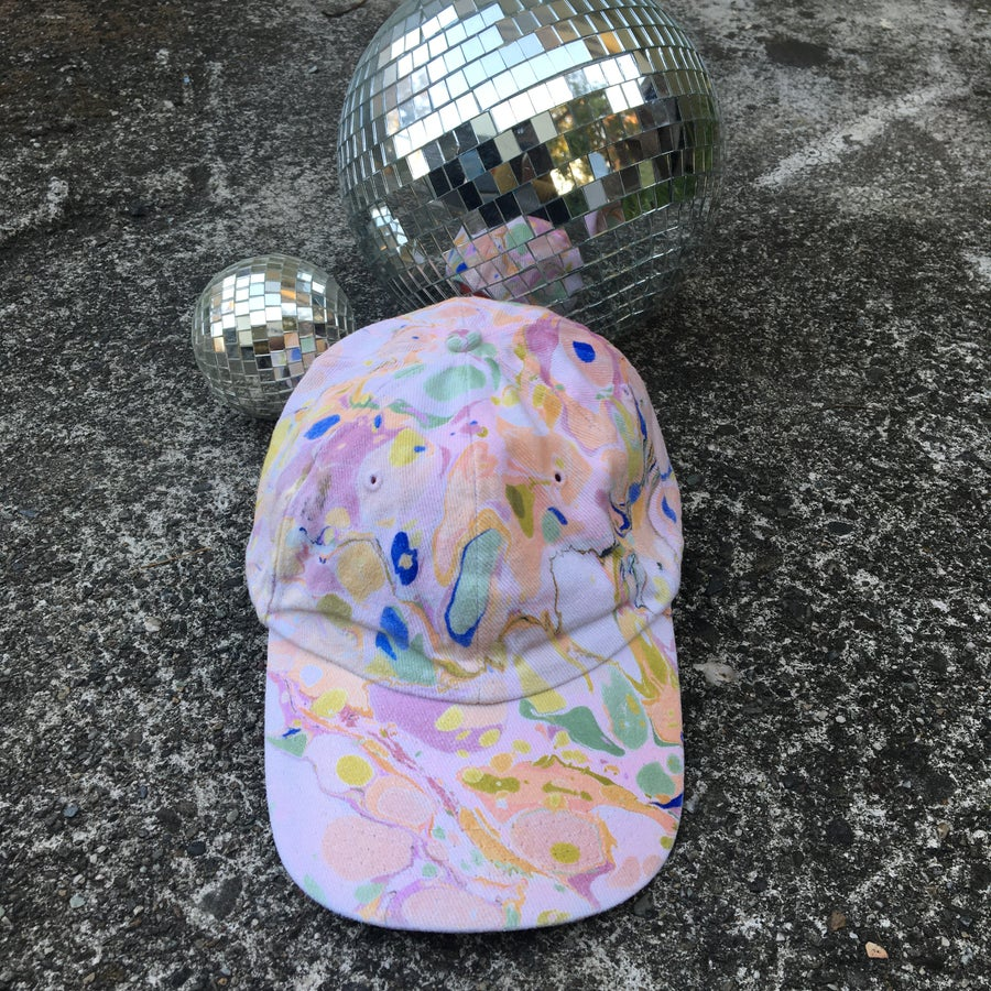 Image of August no. 2: Marbled Dad Hat