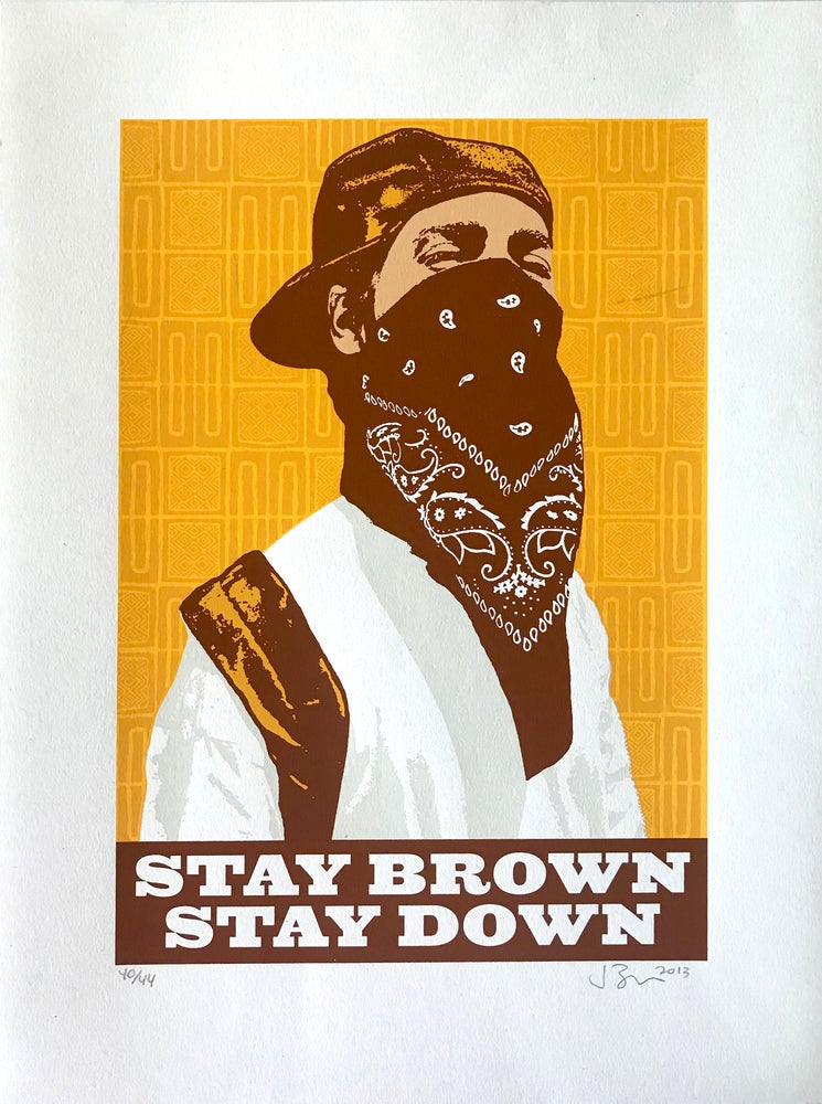 Image of Stay Brown, Stay Down (2013)