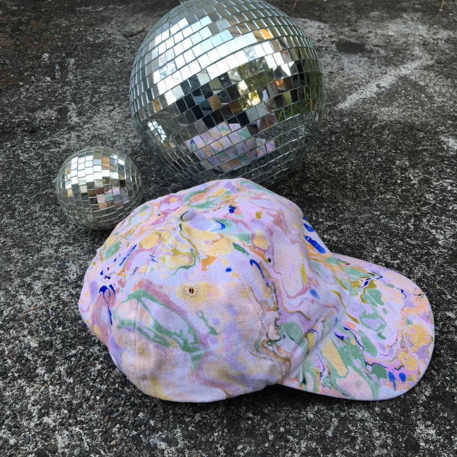 Image of August no. 3: Marbled Dad Hat