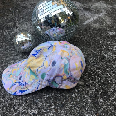Image of August no. 4: Marbled Dad Hat