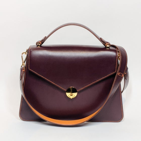 Image of LENY - BURGUNDY w/ Shoulder Strap