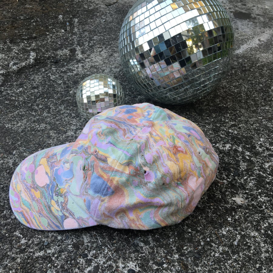 Image of August no. 6: Marbled Dad Hat