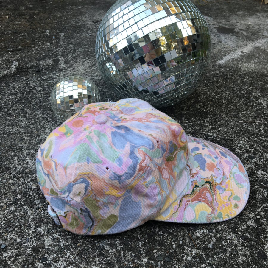 Image of August no. 7: Marbled Dad Hat