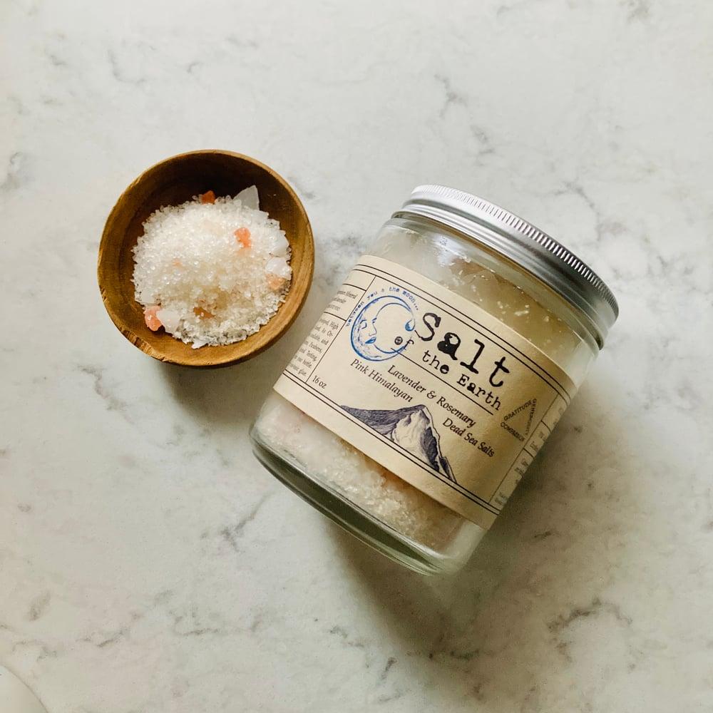 Image of Salt of the Earth <br><i>Pink Himalayan & Dead Sea Salts</i>