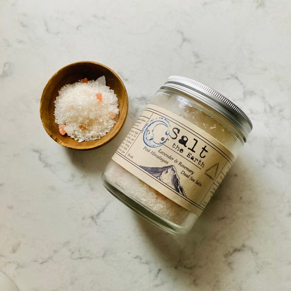 Image of Salt of the Earth <br><i>Pink Himalayan & Dead Sea Salts</i>