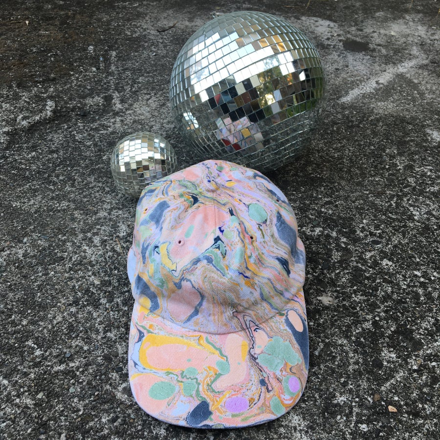 Image of August no. 8: Marbled Dad Hat