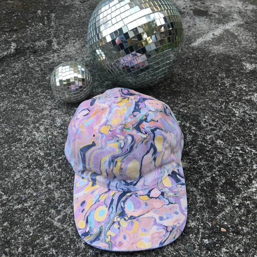 Image of August no. 10 Marbled Dad Hat