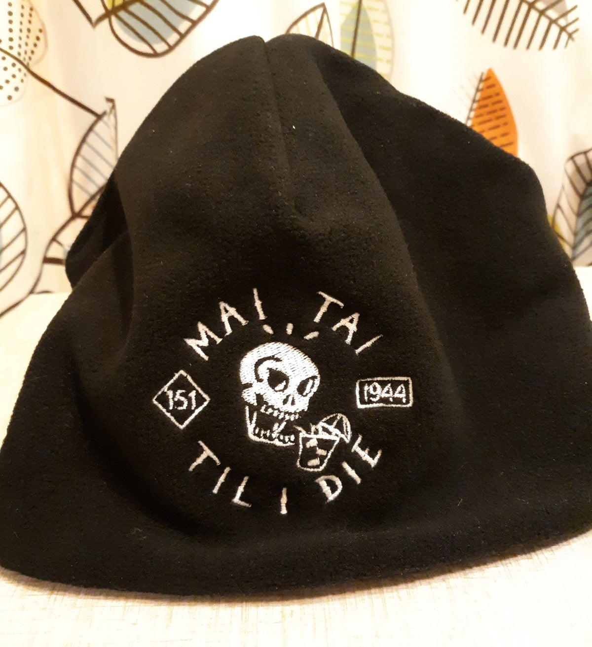 MAI TAI TIL I DIE Fleece Beanie Stocking Hat