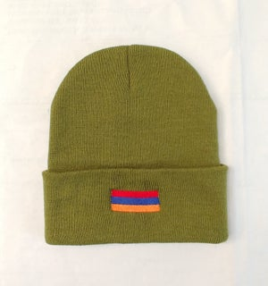 Image of Make Turkey Armenia Again Beanie - Fedyaee Green