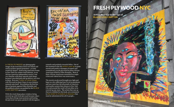 Image of Fresh Plywood NYC: Artists Rise Up In Age of Black Lives Matter