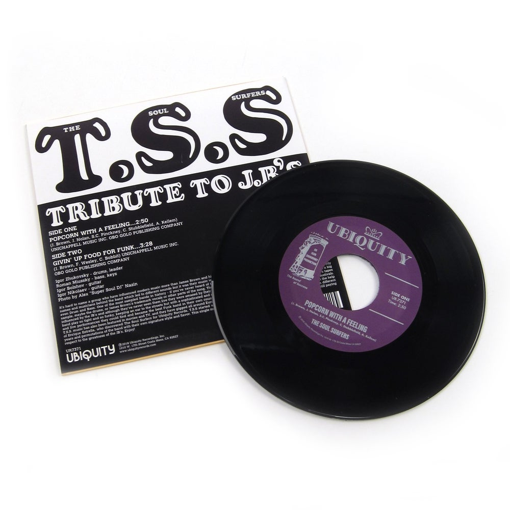 """The Soul Surfers - Tribute To J.B.'s (7"""")"""