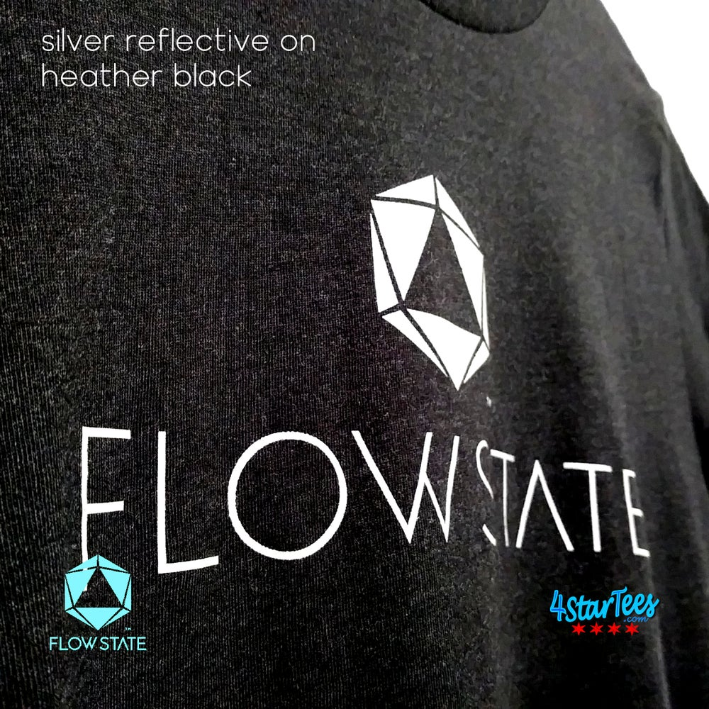 Image of FLOW STATE Reflective Athleisure Tee - Heather Maroon