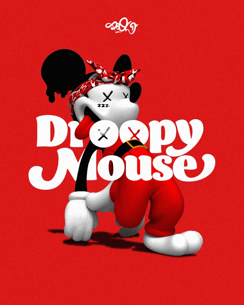 Image of Droopy Mouse vinyltoy