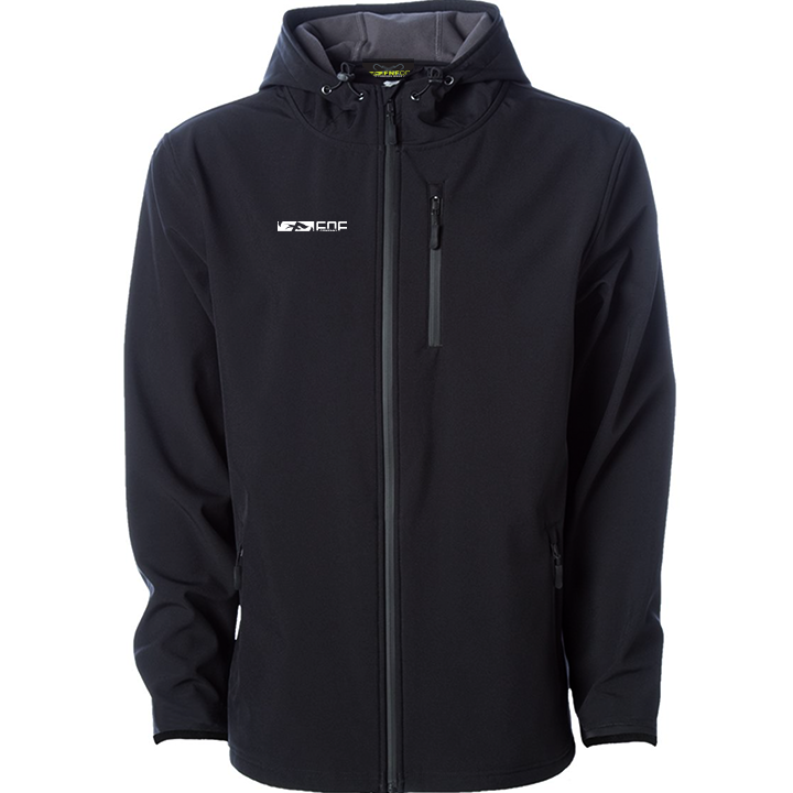 Image of Quality Threads Tech Jacket (black)