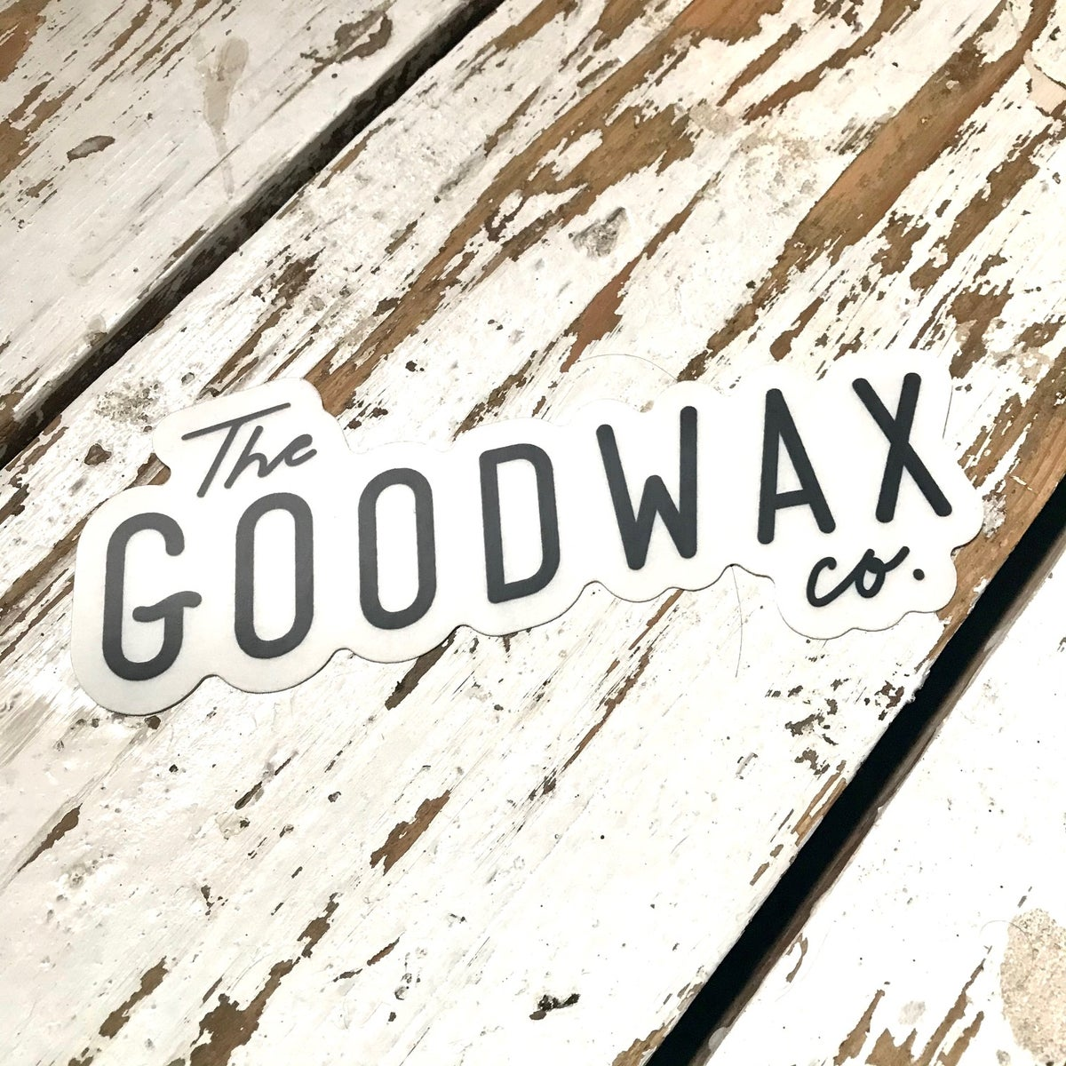 Image of The Good Wax Co. Sticker