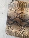 Tote Bag Snake Brown SALE