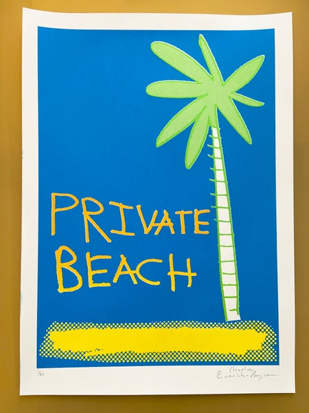 Image of New Private Beach by Charlie Evaristo-Boyce