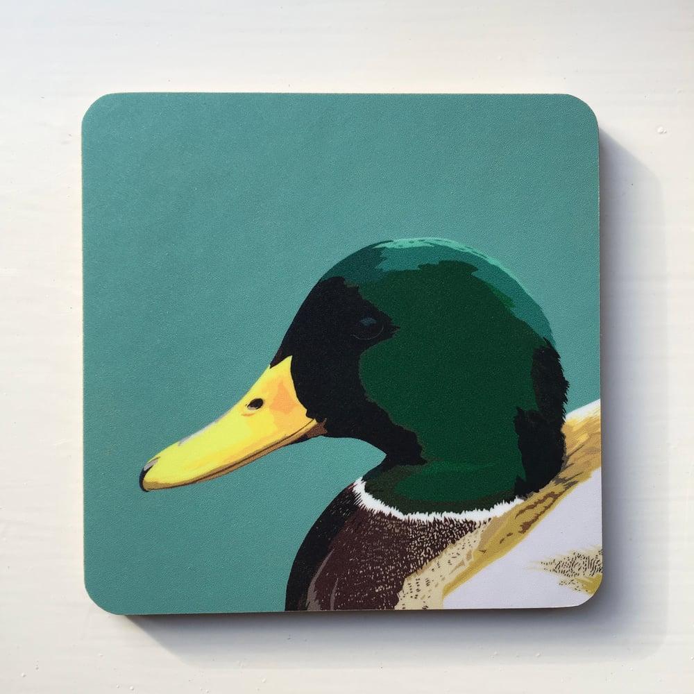 Image of Mallard Drake Coaster
