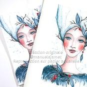 Image of La Dame en Bleu