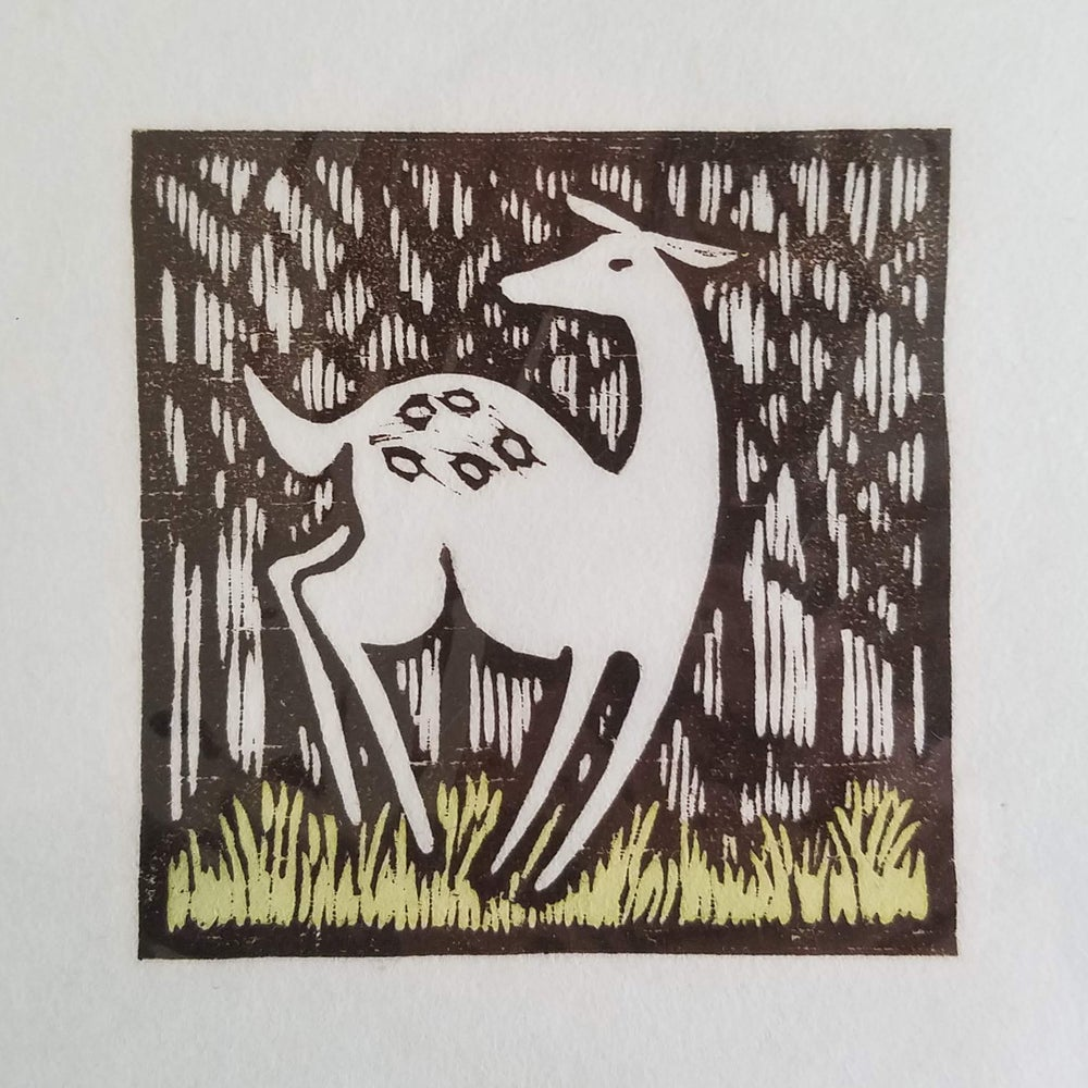 "Image of  ""The Fawn"" print"