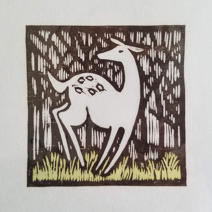 """Image of *FLASH SALE* """"The Fawn"""" print"""