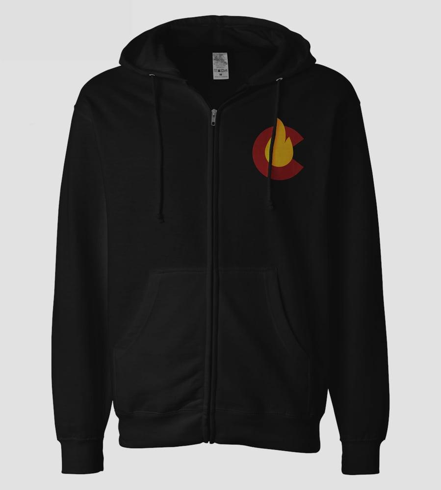 Image of C-Fire 2020 Black Hoodie