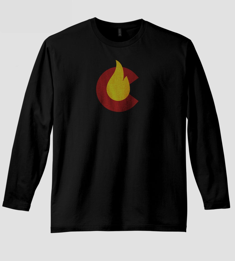 Image of CFire 2020 Black Long Sleeve Tee