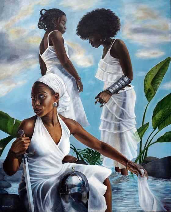 "Image of ""The Calm"" Limited Giclee on Fine Art Paper (Large)"