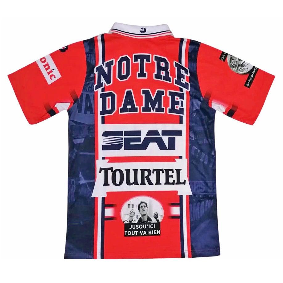 Image of PSG La Haine Bootleg Football Shirt