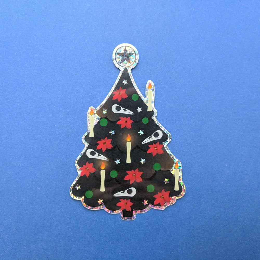 Image of Gothic Christmas Tree