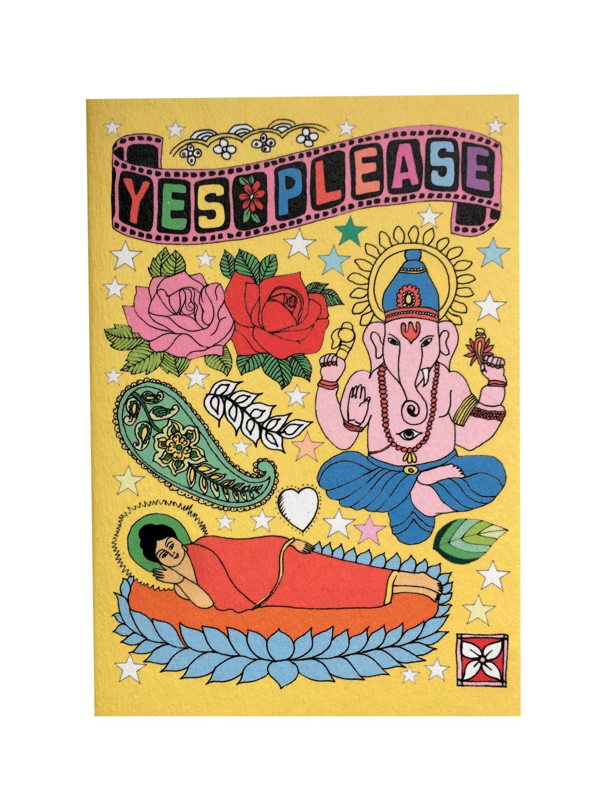 Ganesha Hindu God A6 Notebook