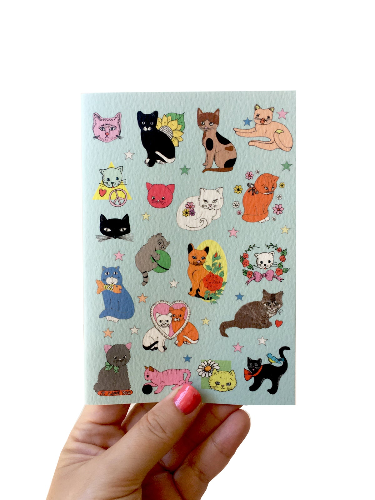 Cats A6 Mini Pocket Notebook