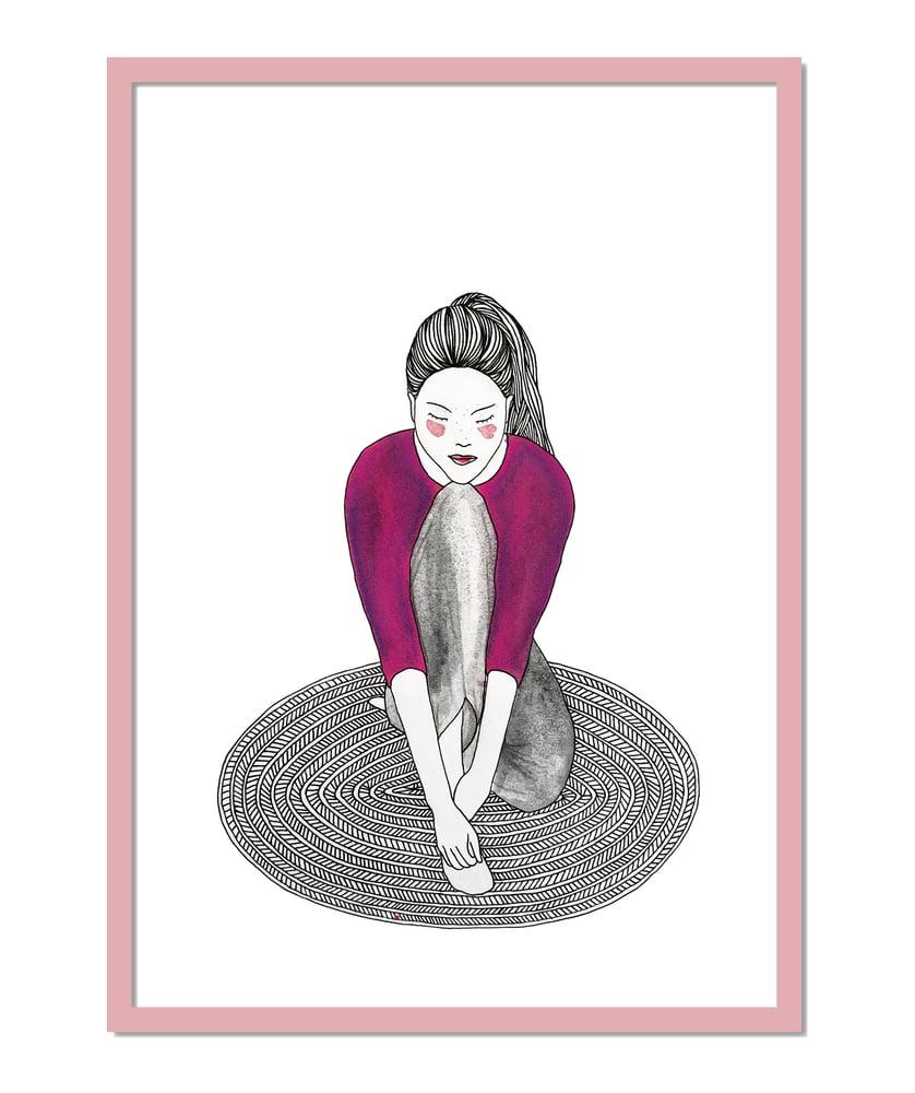Image of Print: Meditation
