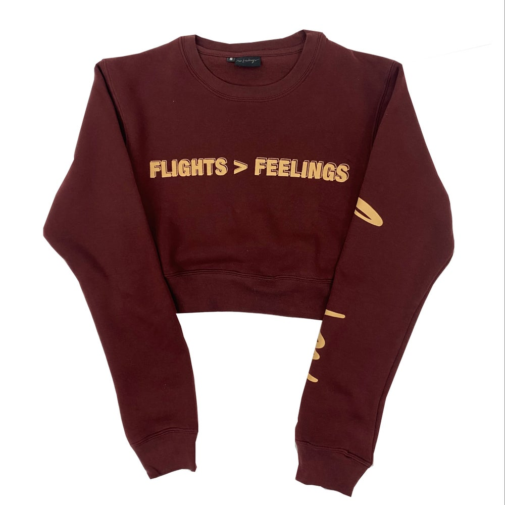Flights > Feelings Women's Croptops