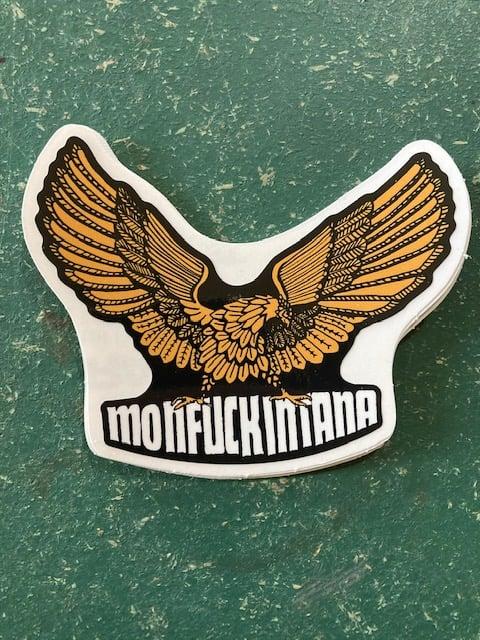 Image of New: Monfuckintana Eagle Sticker