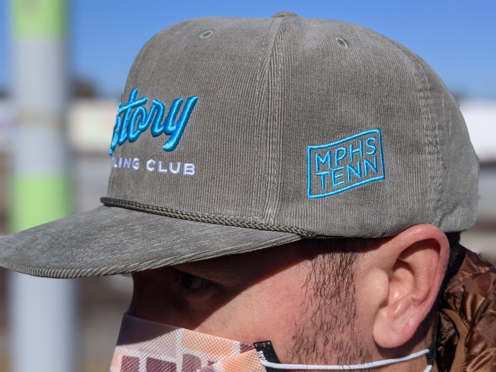Image of Victory Corduroy Hat- Green