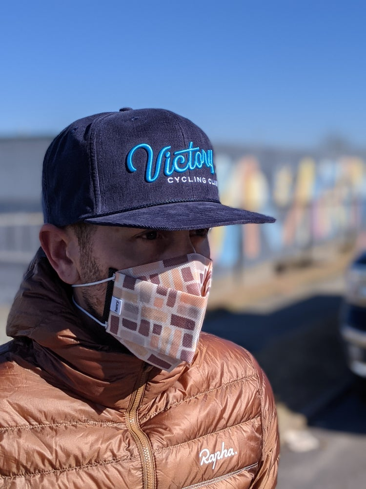 Image of Victory Corduroy Hat- Blue