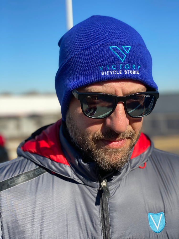 Image of Victory Beanie- Blue