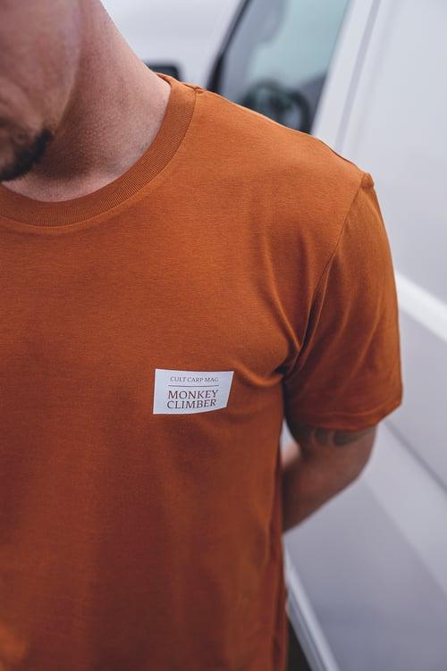Image of Monkey Climber Day & Night shirt I Rust