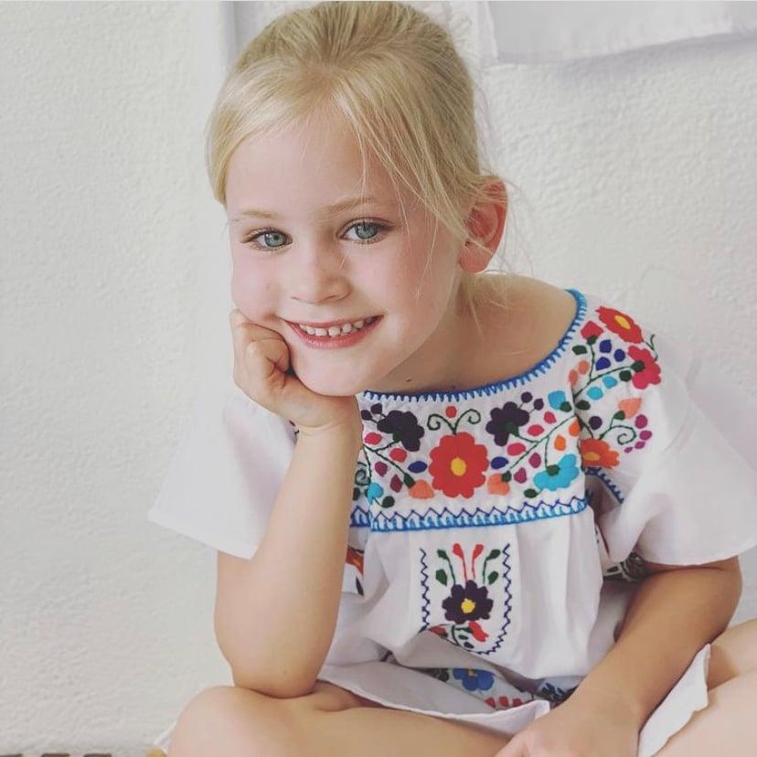 Image of Girls Poplin Dress