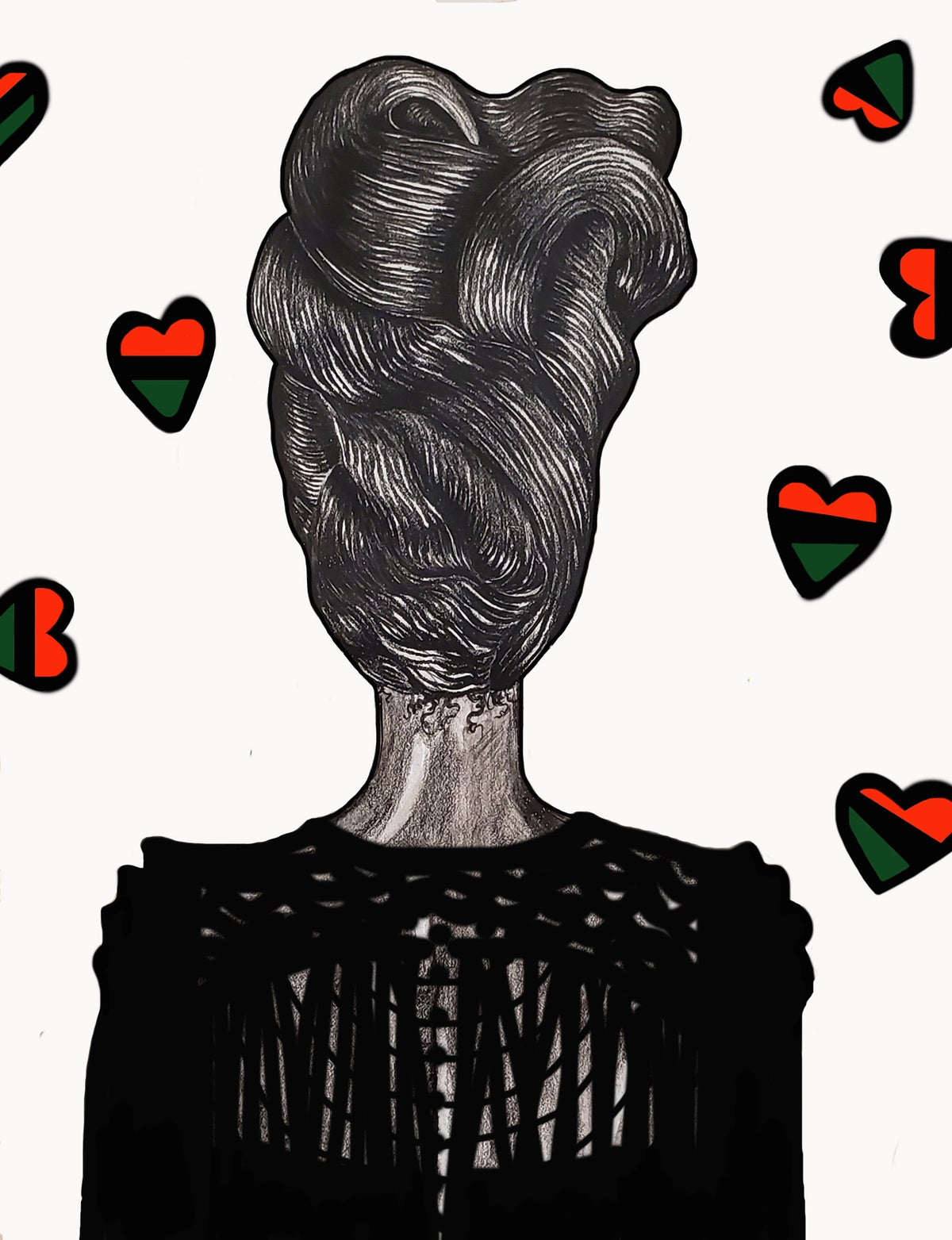 Image of 'Headwrap' Print