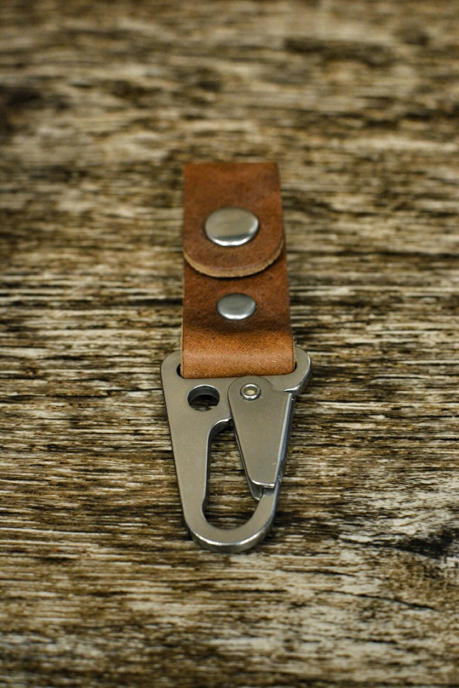Image of Brown / Nickel Key Fob