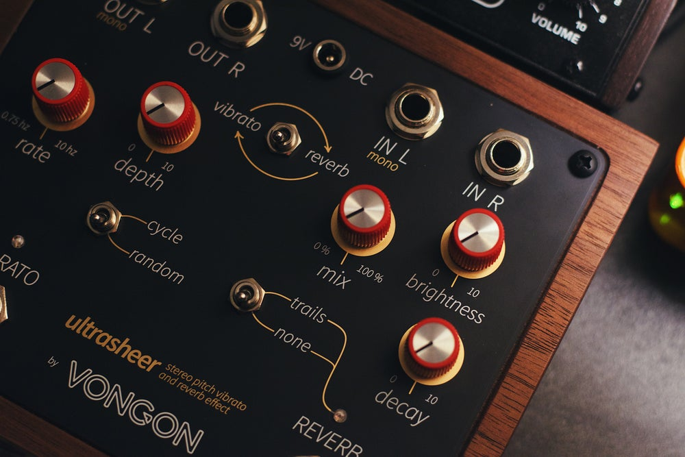 Image of Vongon Ultrasheer Stereo Reverb and Vibrato