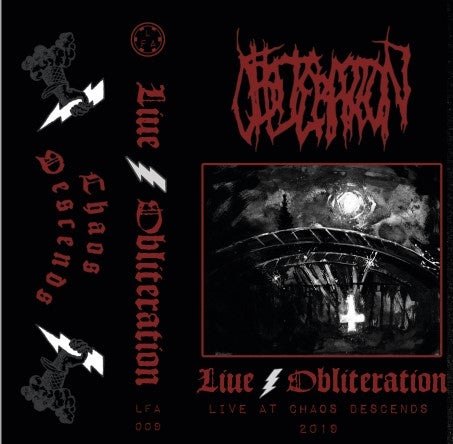 Image of LFA#009: Obliteration-Live Obliteration -Live at Chaos Descends 2019